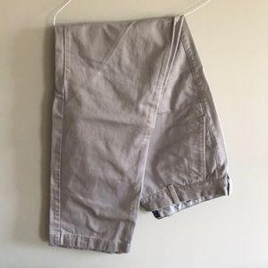 J. Crew light gray Khaki Chino Pants